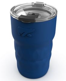 Headway Java Insulated Stainless Steel Coffee & Travel Mug Navy Blue - 360 ml
