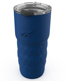 Headway Java Insulated Stainless Steel Coffee & Travel Mug Navy Blue - 600 ml