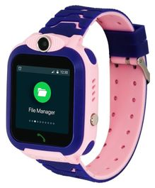Turet Marshmallow Kids Phone Smartwatch with GPS Locator - Pink
