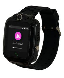 Turet Marshmallow Kids Phone Smartwatch with GPS Locator - Black