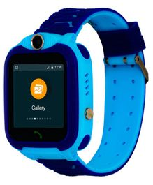 Turet Marshmallow Kids Phone Smartwatch with GPS Locator - Blue