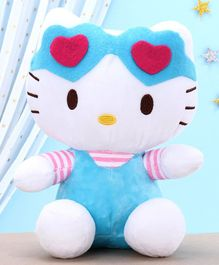 Dimpy Stuff Hello Kitty Soft Toy Blue - Height 26 cm