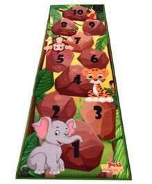 Desi Toys Hopscotch Play Mat - Multicolour