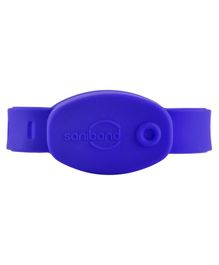 Saniband Sanitizer Wrist Band - Blue