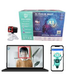 O2I Artificial Intelligence Face Bot DIY Kit - Multicolor