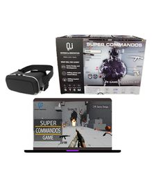 O2I Super Commandos VR Game Designing DIY Kit - Multicolor