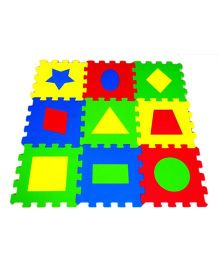 Ultimate Geometric Puzzle Mats - 9 Pieces
