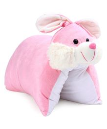 Kids Kaart Bunny Folding Cushion - Pink White