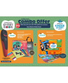 Godiscover Smart Book + Kinder Smart with Talking Pen - Multicolor
