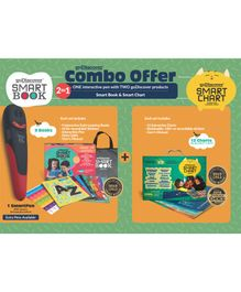 Godiscover Smart Book + SmartChart with Talking Pen - Multicolor