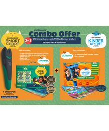 Godiscover KinderSmart + SmartChart with Talking Pen - Multicolor