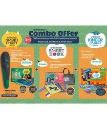 godiscover SmartBook + KinderSmart + SmartChart with Talking Pen - Multicolor