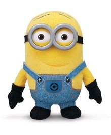 Kuhu Creation 3D Minion Soft Toy Small Yellow - 14 cm