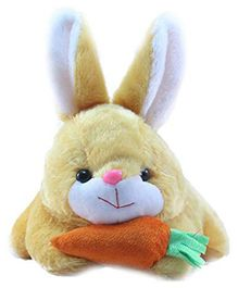 Deals India Bunny With Carrot Soft Toy Beige - Length 26 cm