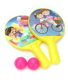 Ratnas Table Tennis Set (Color May Vary)