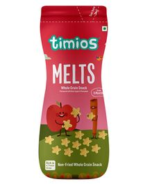 Timios Apple & Cinnamon Flavored Melts  - 50 gm