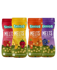 Timios Melts Value Pack of 4 - 50 gm each