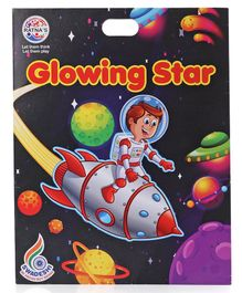 Ratnas Glowing Star Stickers - White