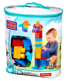 Fisher Price First Builders Big Building Bag 80 Pieces - Multicolor