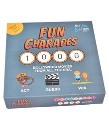 HD Kids Fun Charades Bollywood Board Game - 207 pieces