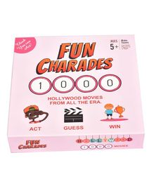 HD Kids Fun Charades Hollywood Board Game - 207 pieces