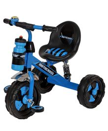 Dash Motocross Tricycle with Sipper Bottle - Blue