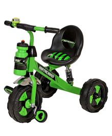 Dash Motocross Tricycle with Sipper Bottle - Green