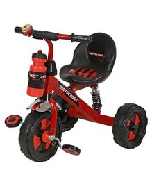 Dash Motocross Tricycle with Sipper Bottle - Red