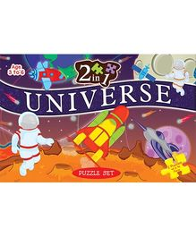 2 In 1 Universe Puzzle Set - 40 Pieces And 96 Pieces