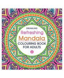Refreshing Mandala Colouring Book for Adults Book 2 - English