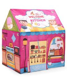 IToys Play House Tent With Kitchen Set - Pink