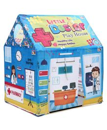 IToys Play House Tent With Doctor Set - Blue