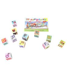 Toyenjoy Alphabet Blocks - Multicolor