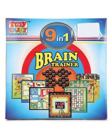 Toyenjoy 9 in 1 Brain Trainer (Color & Style May Vary)