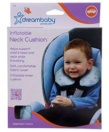 Dreambaby Nap 'N' Go Inflatable Neck Cushion - Blue