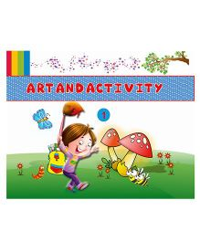 Art And Activity Book 1 - English