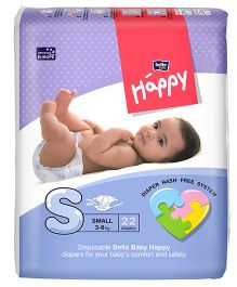 Bella Baby Happy Diapers Small - 22 Pieces