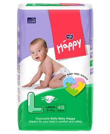 Bella Baby Happy Diapers Large - 48 Pieces
