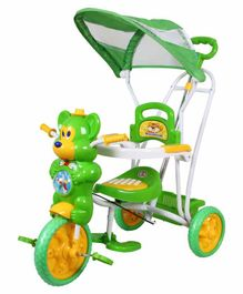 HLX NMC Fun Mouse Musical Tricycle With Navigator - Green