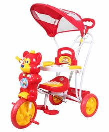HLX NMC Fun Mouse Musical Tricycle With Navigator - Red
