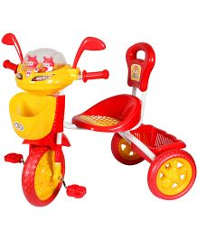 HLX NMC Space Ship Tricycle - Red And Yellow