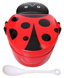 Lady Bug Pattern Lunch Box