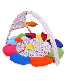 Babyhug Premium Play Gym With Flower - Multicolor