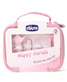 Chicco Happy Hands My First Nail Care Set Pink - 9 Pieces