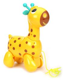 Giggles Nico The Giraffe - Yellow
