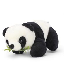 Tickles Soft Toy Panda With Leaves - 10 inch