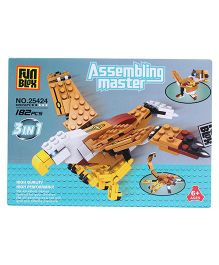 Fun Blox 3 in 1 Assembly Master 25424 - 182 Pieces