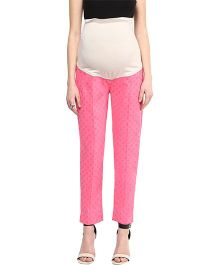 Mamacouture Maternity Pants -  Pink