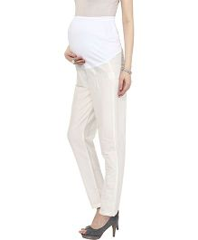 Mamacouture Maternity Pants -  Ivory