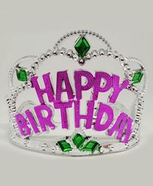 Funcart Happy Birthday Tiara - Pink